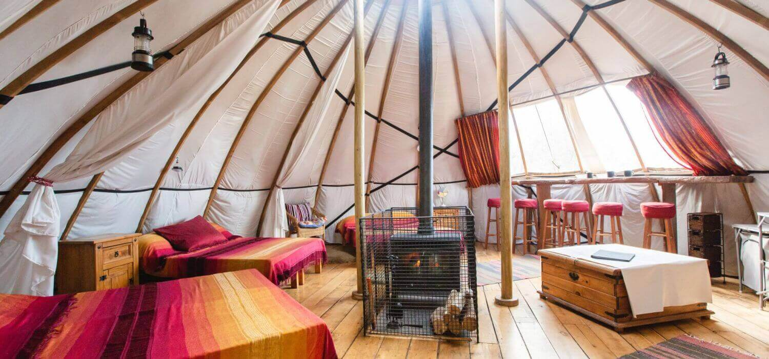 Award winning eco-friendly Glamping site